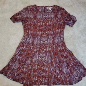 Forever 21,fit and flare mini dress in M